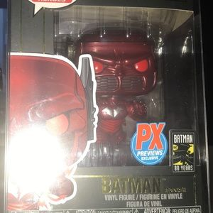 Batman red death brand new in pop protector